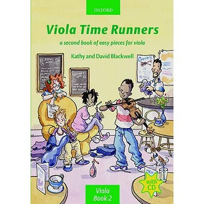 Oxford University Press Blackwell, K.&D.: Viola Time Runners (viola and CD)