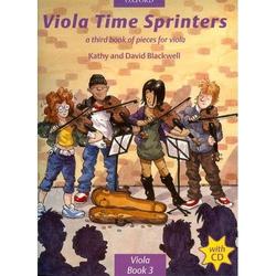 Oxford University Press Blackwell, K.&D.: Viola Time Sprinters (viola and CD)