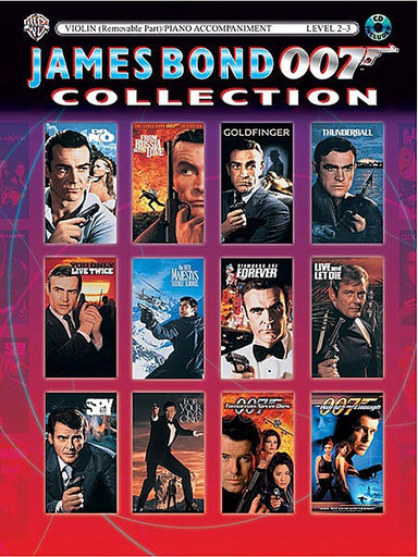 Alfred Music Cuellar, Carol: James Bond Collection for Strings (viola, CD)