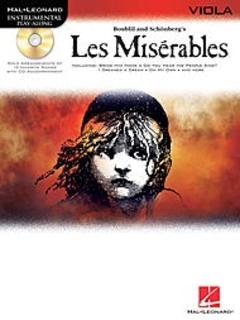 HAL LEONARD Boublil, Alain: Les Miserables (viola & CD)