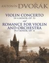 Dover Publications Dvorak, A.: (Dover Score) Violin Concerto in A minor, Op.53 and Romance in F minor, Op.11 (violin, orchestra)