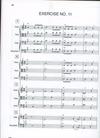 Forque, Charles: Harmonized Rhythms for String Orchestra (score)