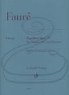 HAL LEONARD Faure (Monnier/Geringas): Papillon, Op.77 - URTEXT (cello & piano) Henle Verlag