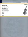 HAL LEONARD Faure, Gabriel: Berceuse (cello & piano)