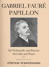 Faure, Gabriel: Papillon (cello & piano)