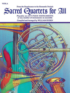 Alfred Music Ryden (arr): Sacred Quartets for All (4 Violas)