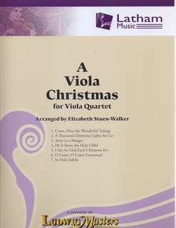 Stuen-Walker, Elizabeth: A Viola Christmas for Viola Quartet, score and parts