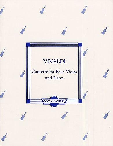 Vivaldi, A. (Arnold): Concerto (4 violas)