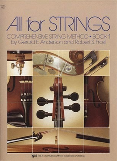 Anderson & Frost: All for Strings, Bk.1 (viola) Kjos