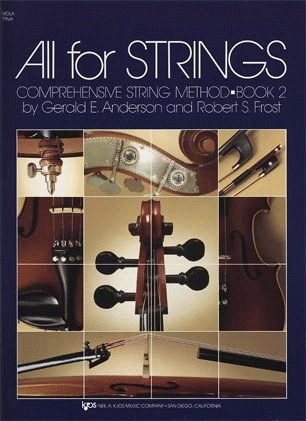 Anderson & Frost: All for Strings, Bk.2 (viola)