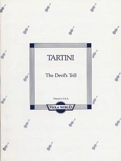 Tartini, Giuseppe (Arnold): Devil's Trill  Sonata (viola & piano)