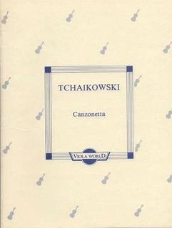 Viola World Tchaikovsky, P.I. (Arnold): Canzonetta (Viola & Piano) Viola World, USA