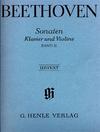 Beethoven, L.van (Brandenburg, ed.): Sonatas, Vol.2, urtext (violin & piano)