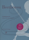 HAL LEONARD Beethoven (Kremer/Kojima): (score/parts) Concerto in D Major, Op.61 - URTEXT (violn & piano reduction) Henle Verlag