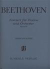 HAL LEONARD Beethoven, L.van (Kojima, ed.): Concerto in D Major, Op.61, urtext (violin & piano)