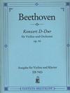 Beethoven, L.van (Oistrach): Concerto in D major Op.61 (violin & piano)