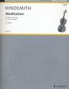 HAL LEONARD Hindemith, P. (Breuer, arr.): Meditation from Nobilissima Visione (violin and organ)