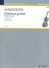 HAL LEONARD Hindemith, Paul: Prelude in G minor for Solo Violin