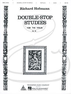 HAL LEONARD Hofmann: Double-Stop Studies for the Violin, Op.96 (violin) Boston Music Company