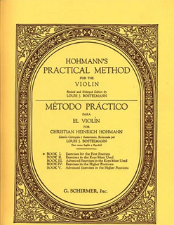 Schirmer Hohmann, C.H.: Practical Violin Method Vol.1