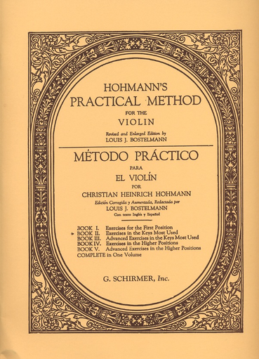 HAL LEONARD Hohmann, (Bostelmann): Practical Method For The Violin, Bk.2 (violin) Schirmer