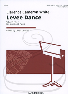 Carl Fischer White, Clarence Cameron: Levee Dance Op. 27 No. 4 (violin & piano)