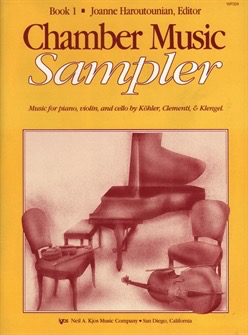 Haroutounian, Joanne: Chamber Music Sampler Bk.1 (violin, Cello, Piano)