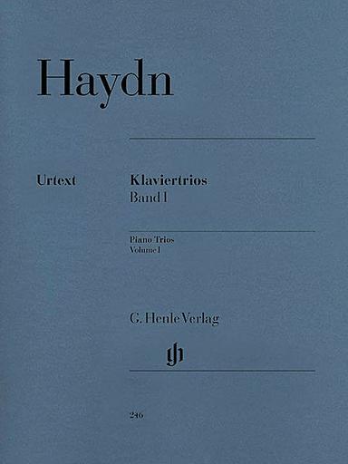 HAL LEONARD Haydn, F.J.: Piano Trios Vol.1 Henle urtext edition (violin, Cello, Piano)