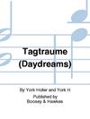 HAL LEONARD Holler, Y.: Tagtraume - Daydreams (Violin, Cello & Piano)