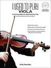 Carl Fischer Gazda/Clark: I Used to Play Viola-An Innovative Method for Adults Returning to Play FISCHER