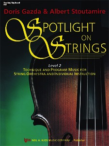 Gazda: Spotlight on Strings, Book 2 (Score)