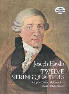 Dover Publications Haydn, F.J.: (score) 12 String Quartets, Op.55, 64 & 71 (string quartet) Dover Publications