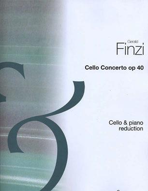 HAL LEONARD Finzi, G.: Concerto Op.40 (cello & piano)