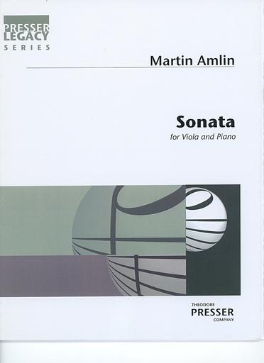 Carl Fischer Amlin, Martin: Sonata for Viola & Piano