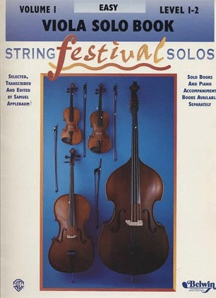 Alfred Music Applebaum, Samuel: String Festival Solos Easy-Intermediate Vol.1 (viola)