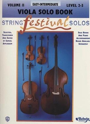Alfred Music Applebaum, Samuel: String Festival Solos Easy-Intermediate Vol.2 (viola)