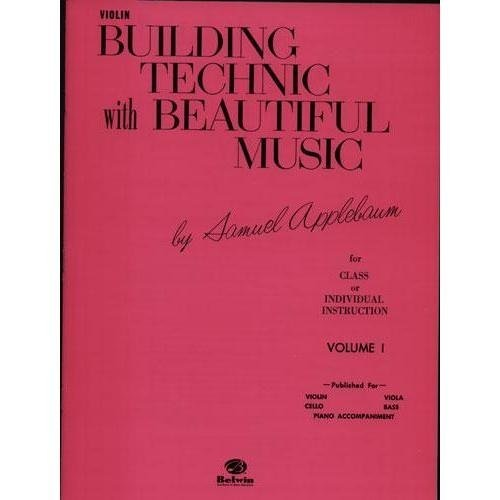 Alfred Music Applebaum, Samuel: Building Technic with Beautiful Music Vol.1 (viola)