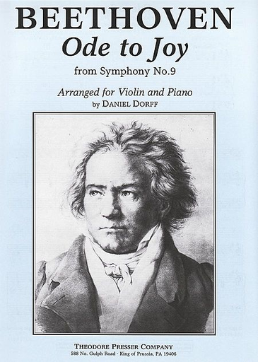 Carl Fischer Beethoven, L.van: Ode to Joy arr. for Violin and piano