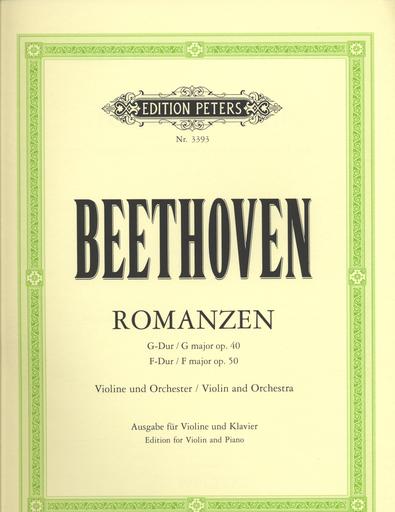 C.F. Peters Beethoven, Ludwig van: Romances Op. 40 & 50 (violin & piano) PETERS