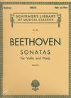 HAL LEONARD Beethoven, L. (Brodsky): Sonatas (Violin & Piano)