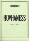 Hovhaness, Alan: Khirgiz Suite (violin & piano)