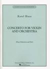 HAL LEONARD Husa, Karel: Concerto (violin  & piano)