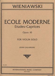 International Music Company Wieniawski, Henri: Ecole Moderne Op.10 (violin)