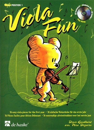 HAL LEONARD Goedhart, D.: Viola Fun (viola & CD)