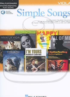 HAL LEONARD Hal Leonard Instrumental Play-Along: (collection) Simple Songs (viola)(audio access) Hal Leonard