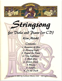 Maerlk, Kim: Stringsong for Viola and Piano (or CD)