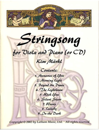 Maerlk, Kim: Stringsong for Viola and Piano (or CD)