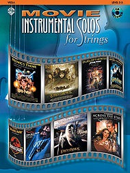 Alfred Music Movie Instrumental Solos for Strings (viola & CD)