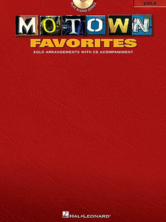 HAL LEONARD Motown Favorites (viola & CD)