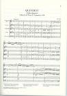 HAL LEONARD Mozart, W.A. (Wiese, ed):  Clarinet Quintet K.581, urtext (score)